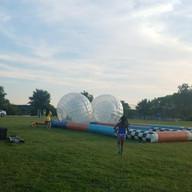 Camp Hamster Ball Races