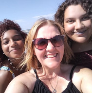 Lovely Ladies at  the Beach