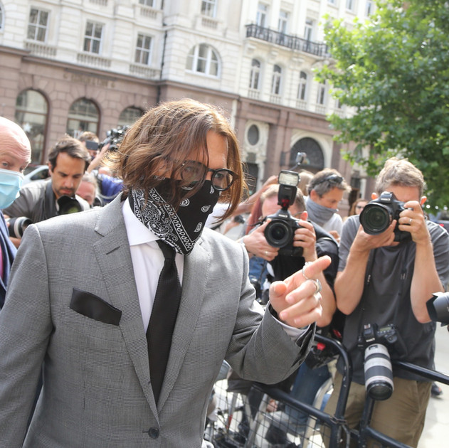 Johnny Depp, Witness Statement (1st)