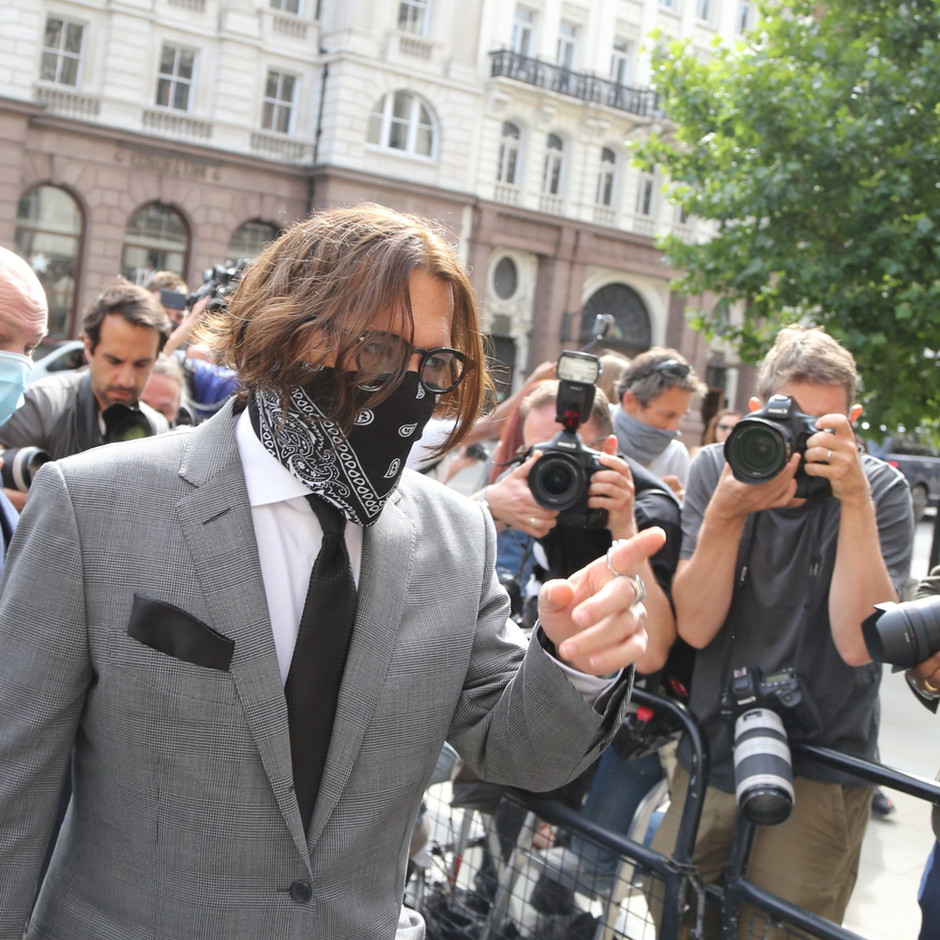 Johnny Depp, Grounds of Appeal