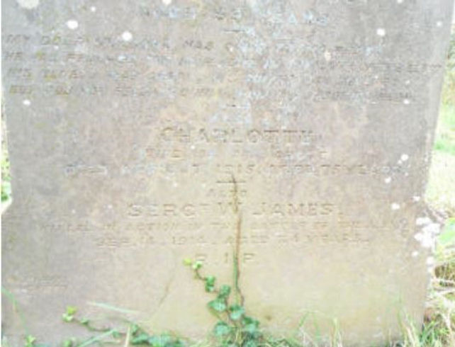 WJames Grave.JPG