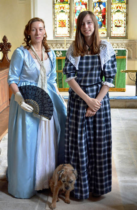 Civil war Drama in Grafton Regis church