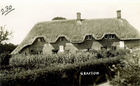 Grafton thatched cottage