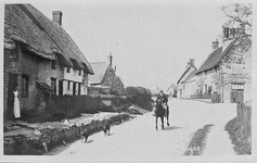 Farmer on Horse on what is now the A508