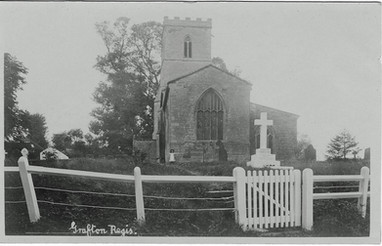 Church with fence