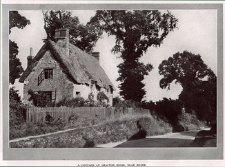 Grafton Regis cottage 1923