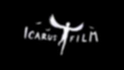 Icarus Film wit kleur op zwart kleur PNG