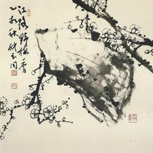 석매/石梅/Plum tree with stone