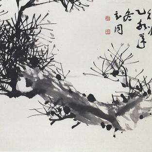 묵송/墨松/Pine tree
