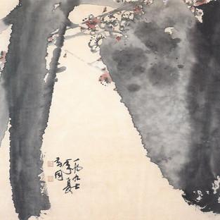 석매/石梅 Plum tree with stone