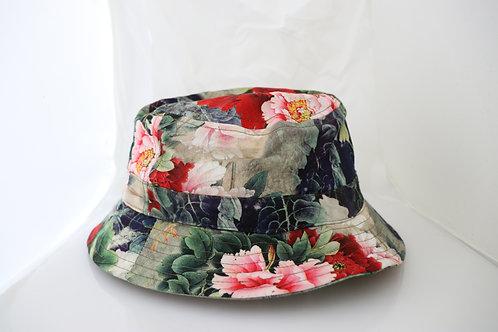 CHINA FLORAL BUCKET CAP