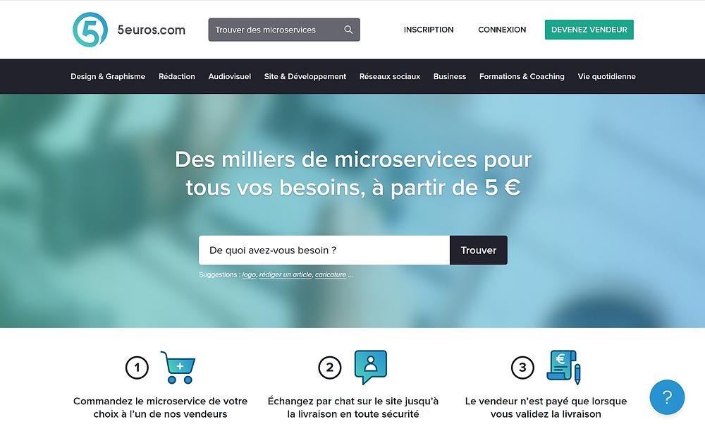 EP Portage: 5 euros est une plateforme généraliste
