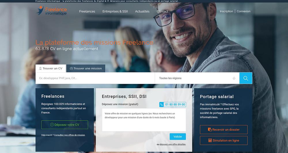 EP Portage: Freelance-informatique.fr