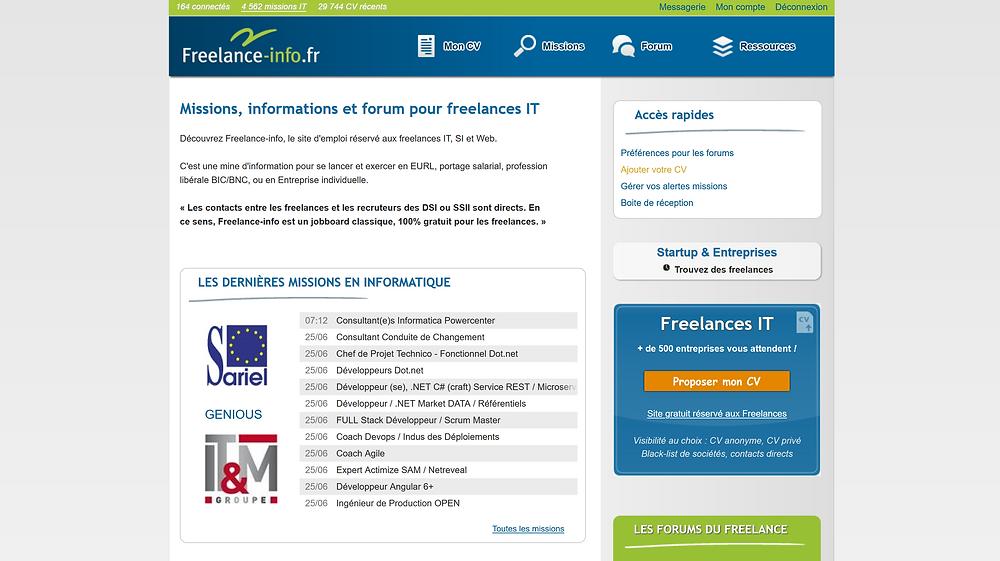 EP Portage: Plateforme freelance-info.fr