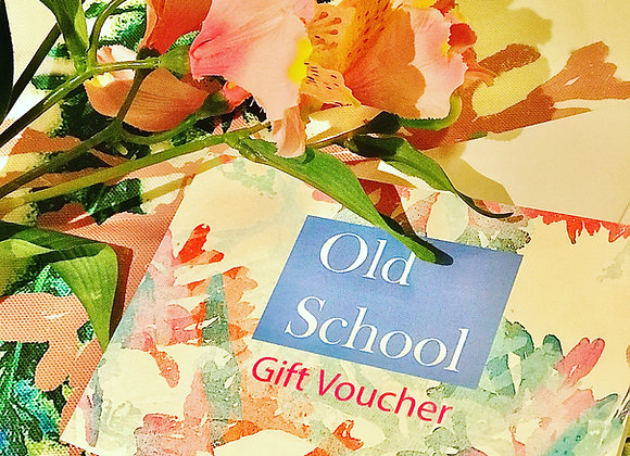 Voucher for textile workshops