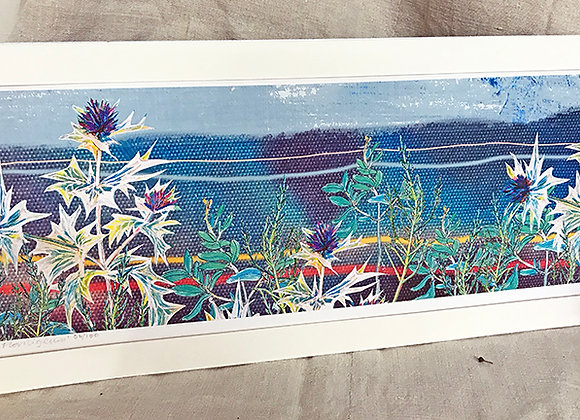 'Mersea Floriligeum' Limited Edition Print