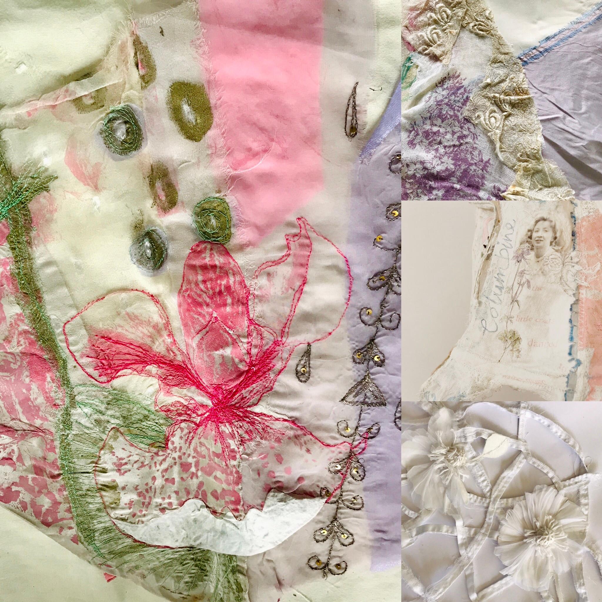 Art Textile 3- De-construct /Reconstruct