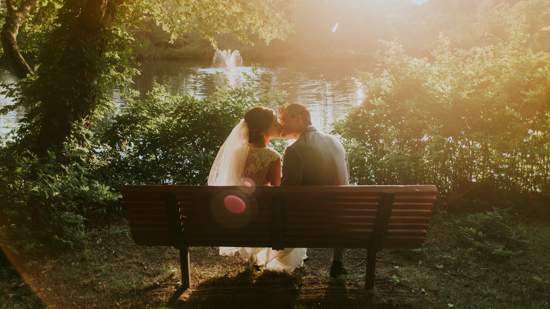 Kiss on a Bench
