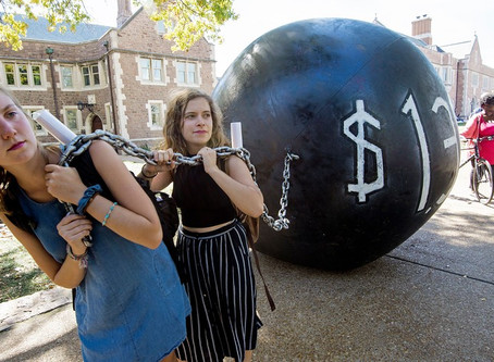 DON'T DO IT ! Americans are using their retirement accounts to pay their student loans ---that's bad