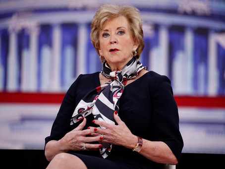 Small Business Administration chief Linda McMahon to step down