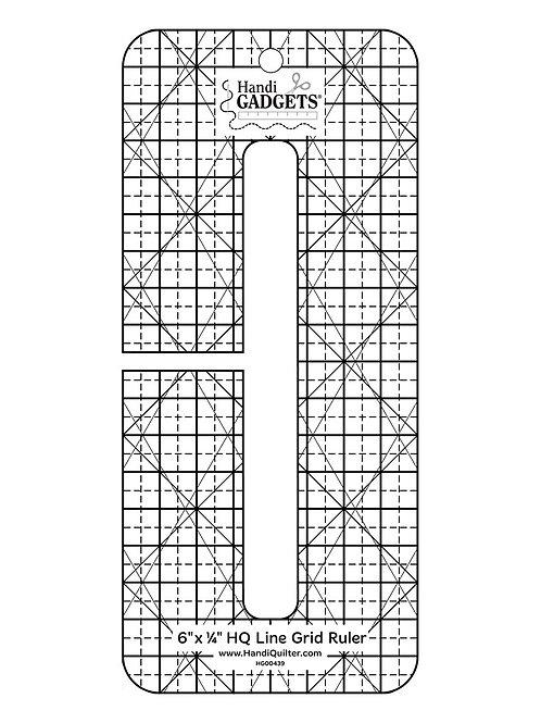 HQ Line Grid 6 inch x 1/4 inch