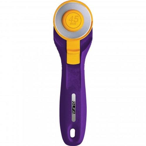 Splash Rotary Cutter 45mm, Emperor Purple