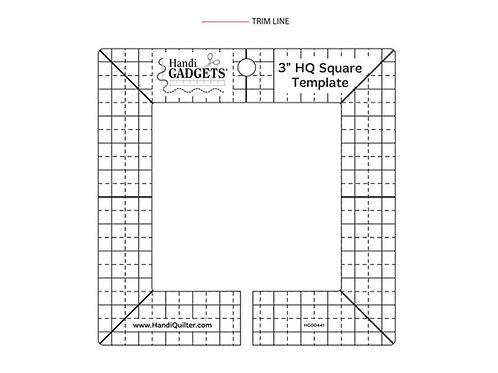 HQ Square, 3 inch