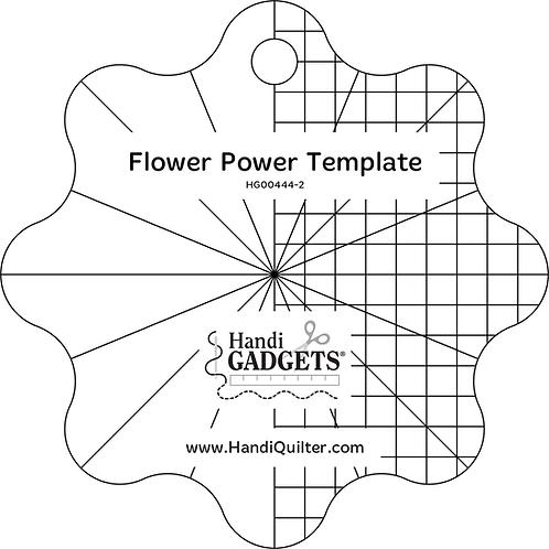 5-inch Flower Power Template