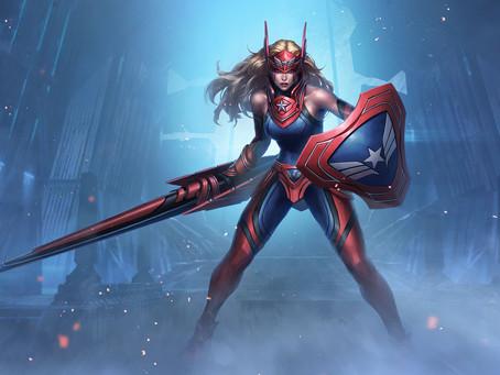 La Historia De Captain America (Sharon Rogers) - Marvel Future Fight