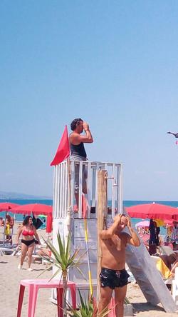spiaggia sicura