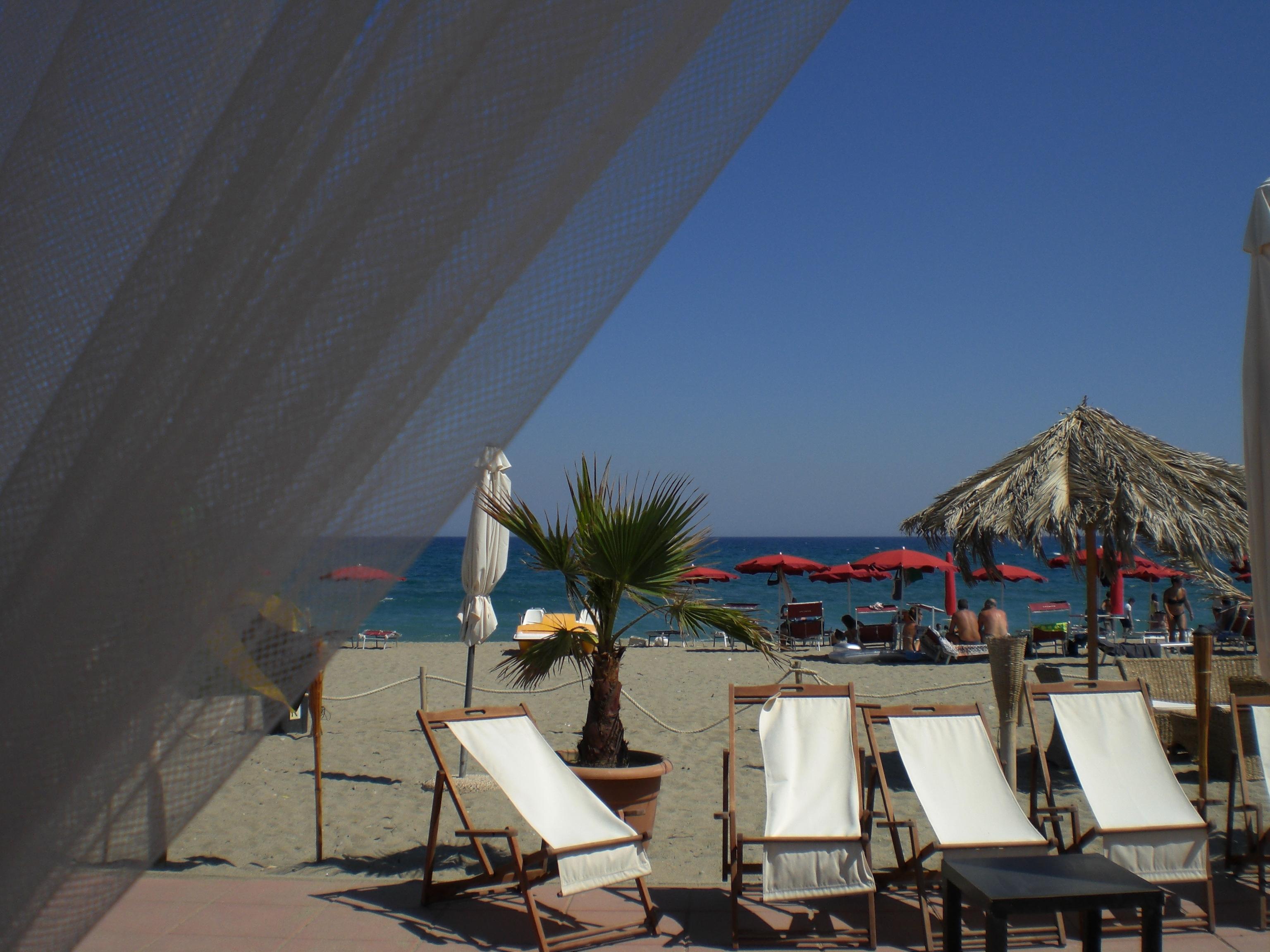 terrazza in riva al mare cariati