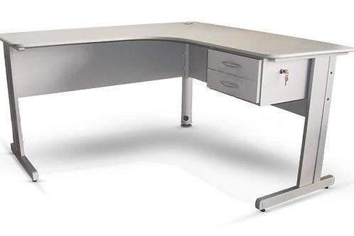 """mesa de trabalho em """"L"""""""