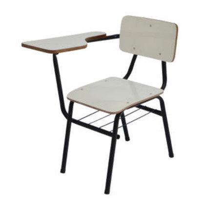 cadeira universitária total formica, assento e encosto anatômico