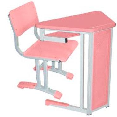conjunto escolar infantil mesa e cadeira em polipropileno