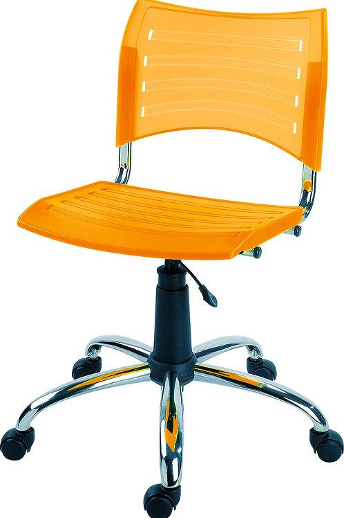 cadeira iso giratória cromada