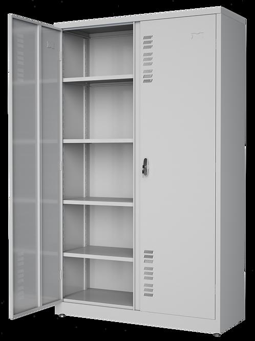 armário de aço 02 portas 1,68x0,40x0,90