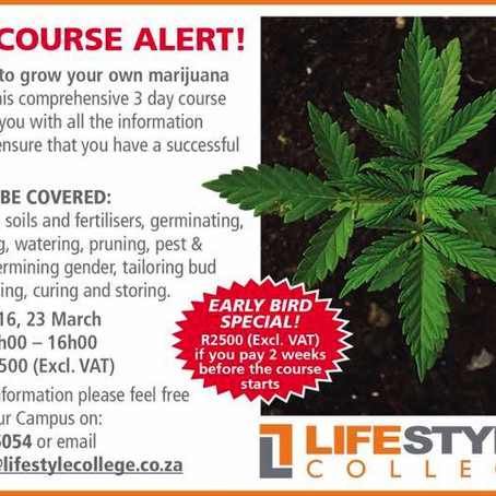 Cannabis college in South Africa