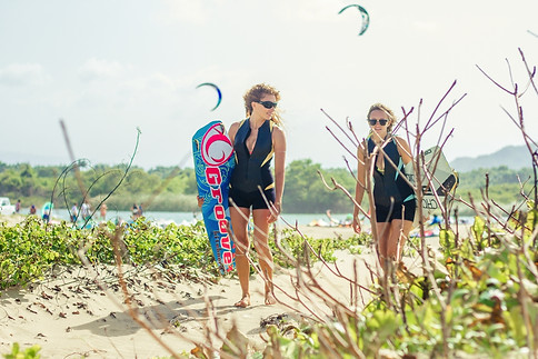 Truli Wetsuits Kitesurfing