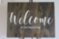 Welcome Sign, Wedding Sign, Reception Sign, Ceremony Sign