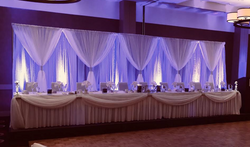 Backdrop with Uplighting