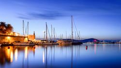 Porto di Alghero Notturna