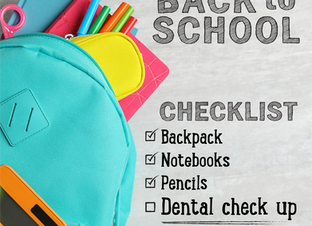 Back to School Dental Check Up - 6 Secrets for Success