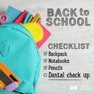 Back to School Dental Check Up - 6 Secrets for Success