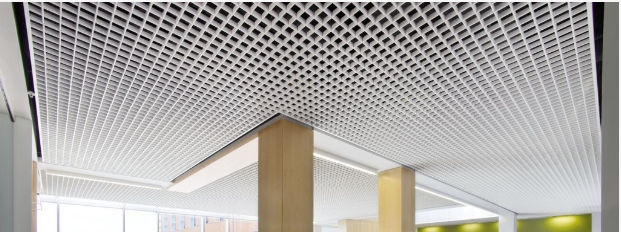 open cell suspended ceiling