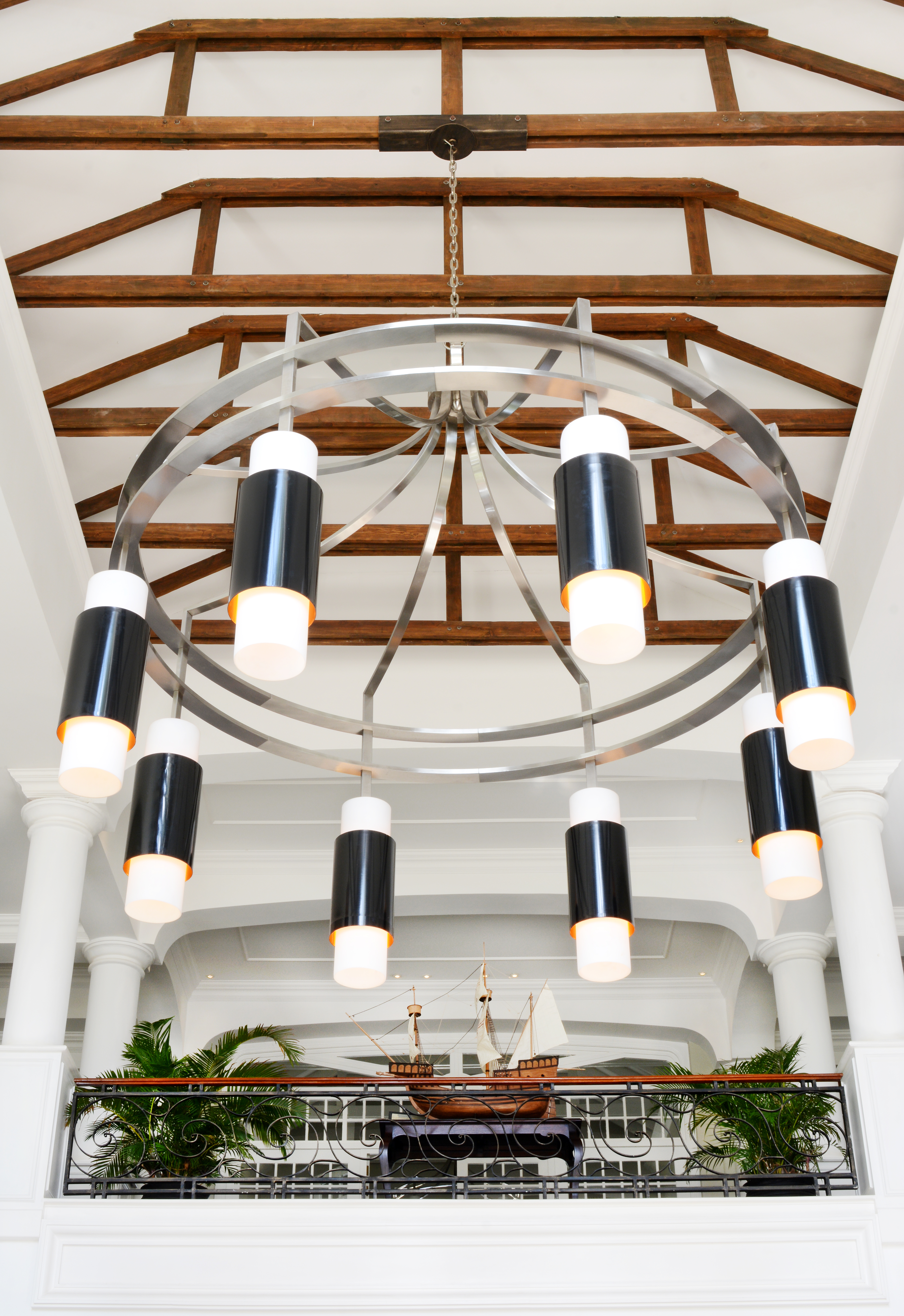 The Lighting at Reception Area