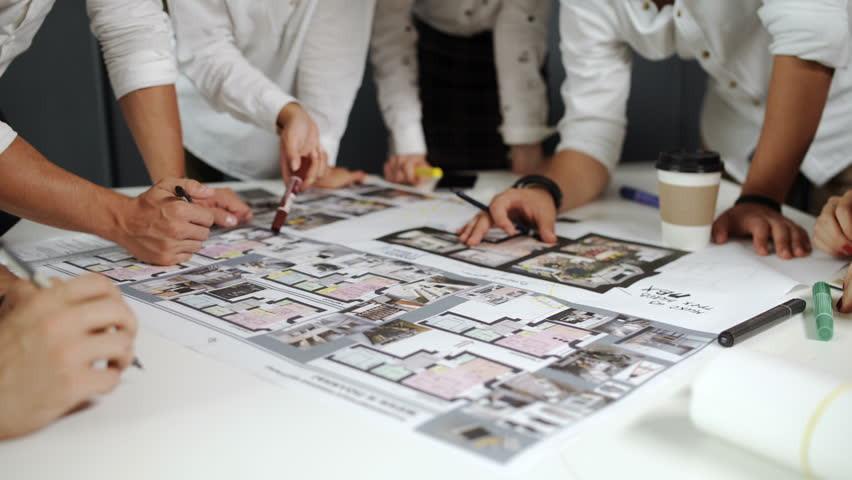 design brief, space planning