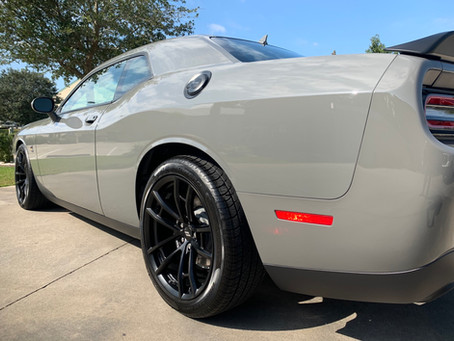 Dodge Challenger-New Vehicle Protection