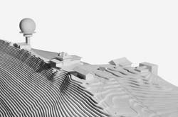 Sanierung Bergrestaurant Lägern Hochwacht: Modellbild (Gruber Forster Modellbau)