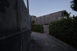 Umbau Villa am See Pella: Zufahrt