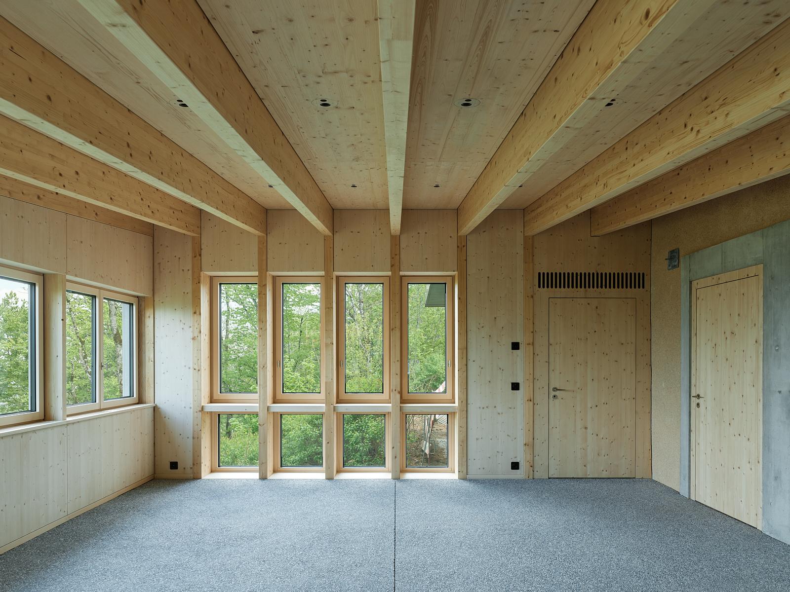 Sanierung Bergrestaurant Lägern Hochwacht: Wehntalerstube (Bild Georg Aerni)